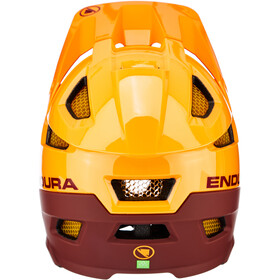 Endura MT500 Full Face Helm Heren, mandarin